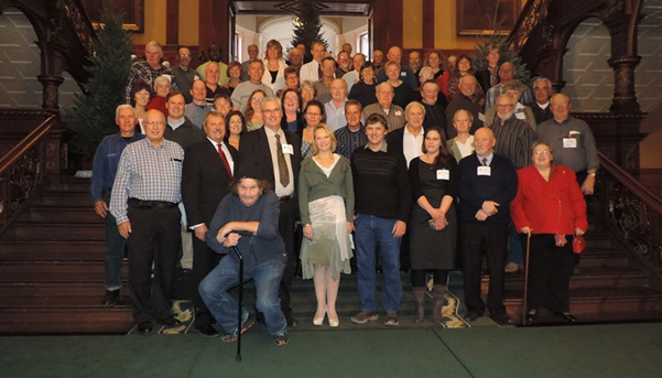 Landowners attend the historic presentation of a Petition of Right to Attorney General, the Hon. Madeleine Meilleur by MPP Jack MacLaren.